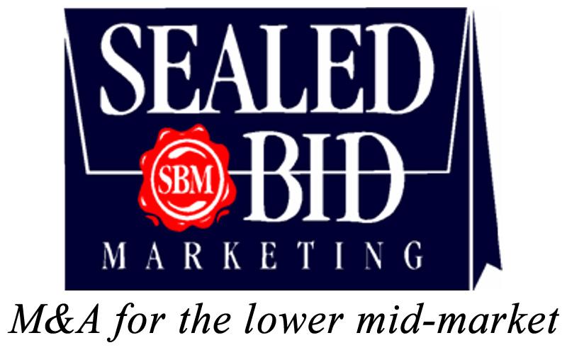 SealedBid DK Blue Logo-larger with crisp tagline added