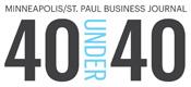 Minneapolis/St. Paul Business Journal 40 Under 40 Logo
