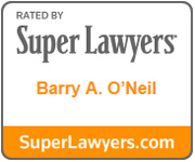 Barry O'Neil Super Lawyer Badge