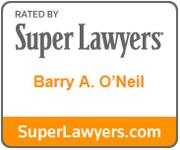 Barry O'Neil Super Lawyer Badge