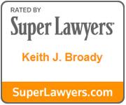 Keith Broady Super Lawyer Logo