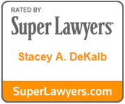Stacey DeKalb Super Lawyers Logo