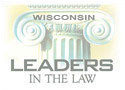 Wisconsin Leaders in the Law Logo