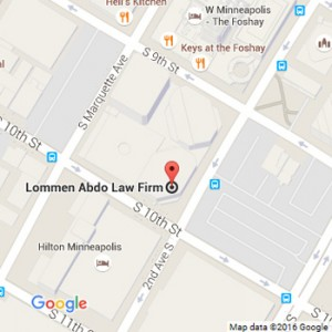 Lommen Abdo Minneapolis Google Map 2016