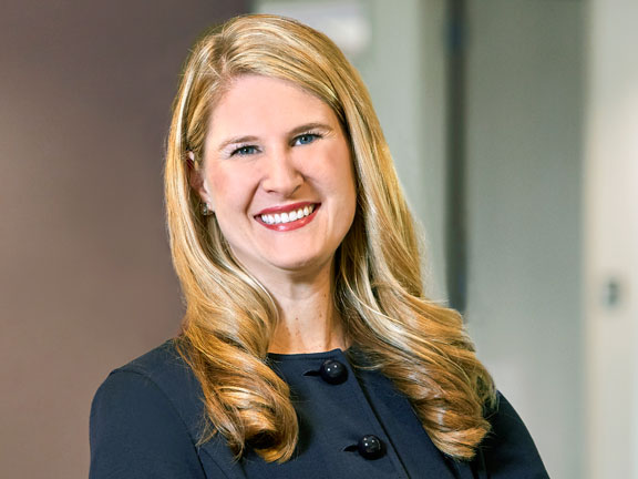 Lauren Nuffort of Lommen Abdo Law Firm