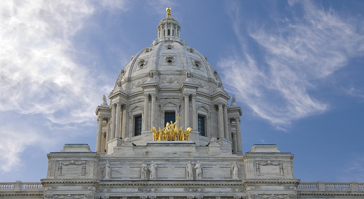 Minnesota State Capitol and Quadriga