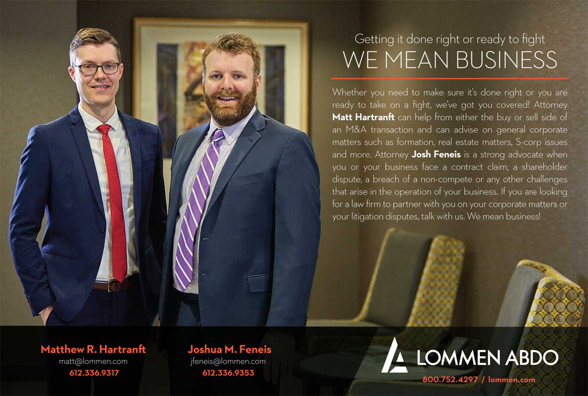 Minnesota & Wisconsin Attorneys | Litigation and Business Law