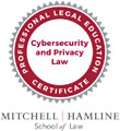 William Hamline School of Law Cybersecurity and Privacy Law Badge