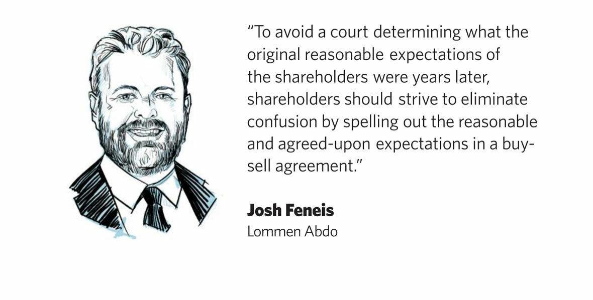 Josh Feneis, Lommen Abdo Attorney