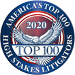 America's Top 100 High Stakes Litigators Logo