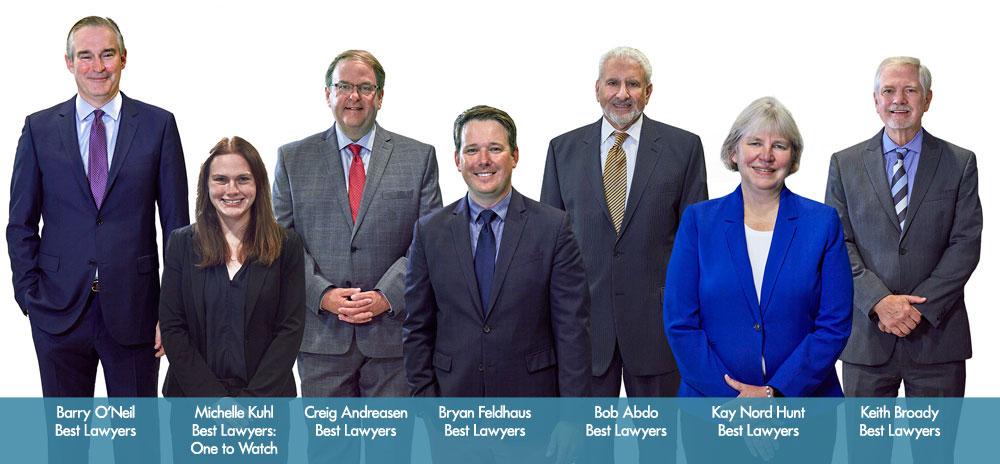 Lommen Abdo Law Firm's 2021 Best Lawyers, unmasked