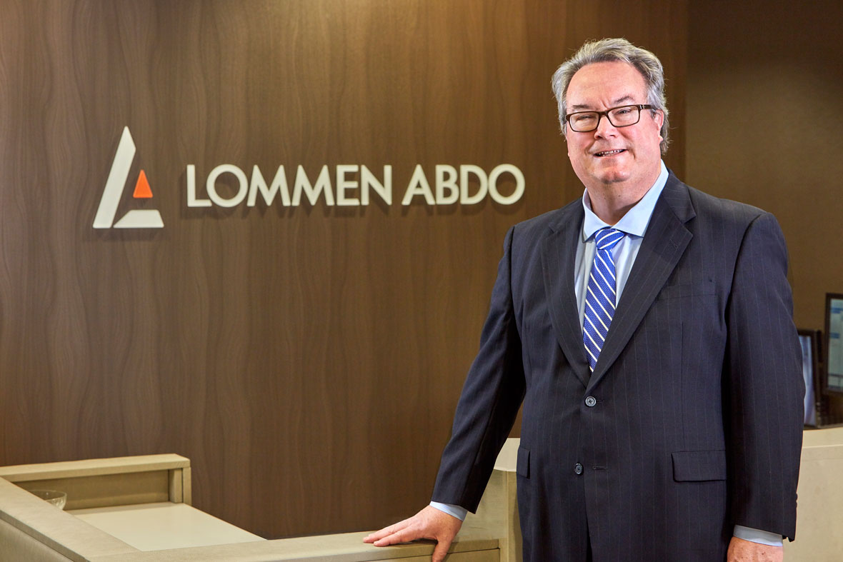 Larry Rocheford, Lommen Abdo Law Firm