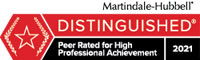 Martindale-Hubbell Distinguished Logo