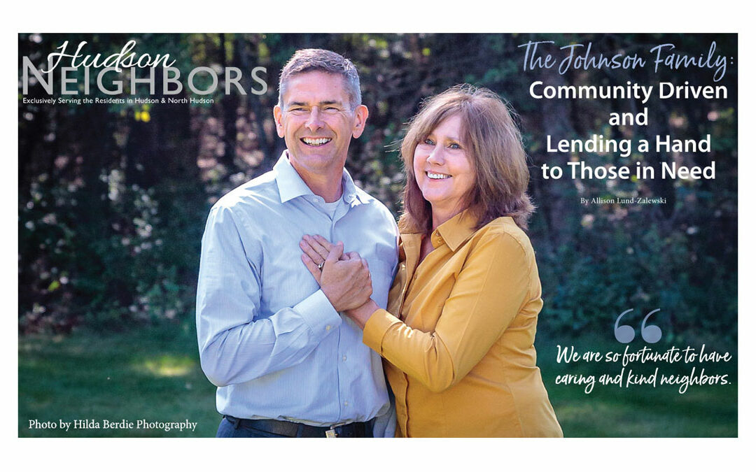 The Johnson Family: Community Driven and Lending a Hand to Those in Need